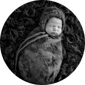 Orange Newborn Photographer